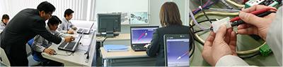 生産技術、機械設計、実験評価など